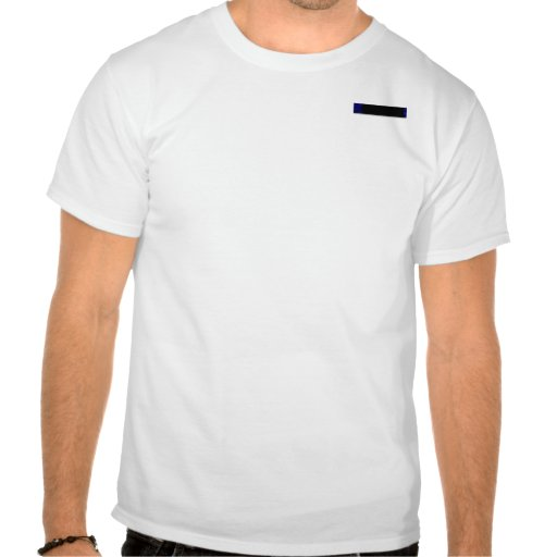 Curva azul eléctrica camiseta