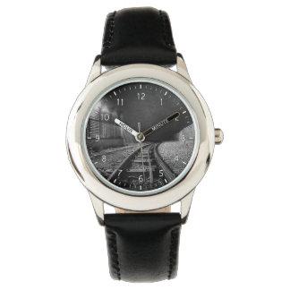Curva ciega relojes de pulsera