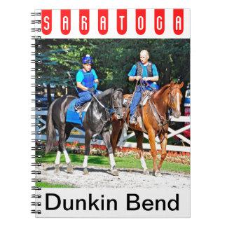 Curva de Dunkin por Dunkerque Libro De Apuntes Con Espiral