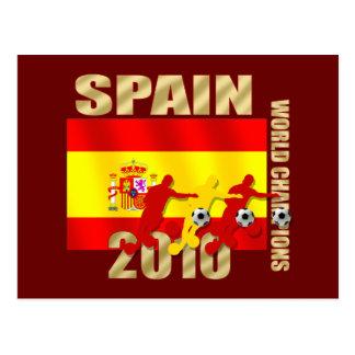 Curva de España 2010 de los jugadores de fútbol él