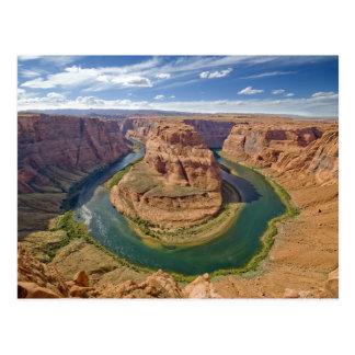 Curva de herradura, Arizona, los E.E.U.U. Postales