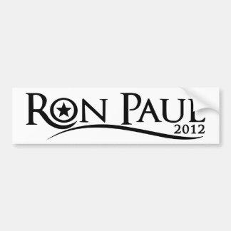 Curva de Ron Paul 2012 Pegatina Para Auto