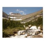 Curva de Siyeh - glaciar NP Postales