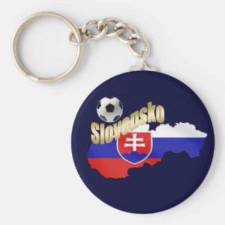 Curva del mapa de Eslovaquia él regalos de Slovaks Llavero Personalizado