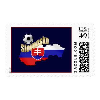 Curva del mapa de Eslovaquia él regalos de Slovaks Sellos