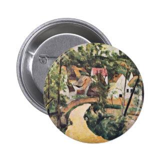 Curva en el camino de Paul Cézanne (la mejor calid Pins