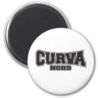 Curva Nord Black 2 Inch Round Magnet