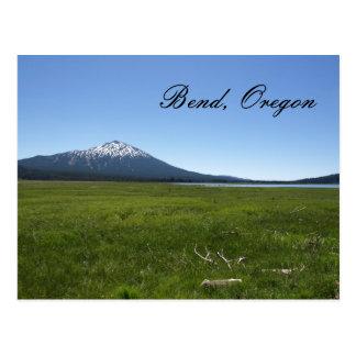 Curva, postal de Oregon