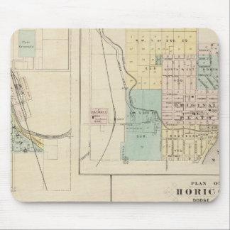 Curva, puerto Washington, Hartford y Horicon del o Mouse Pad