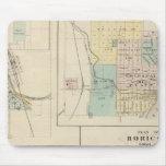 Curva, puerto Washington, Hartford y Horicon del o Alfombrilla De Ratón
