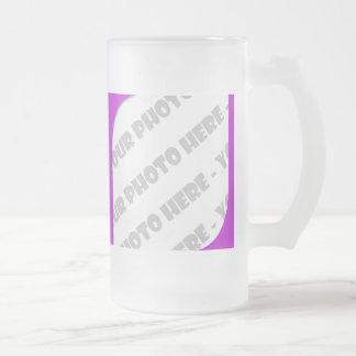 Curva púrpura Stein helado foto - cree sus los Taza De Cristal