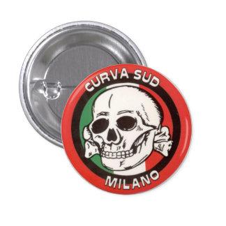 Curva Sud - Milan - Italy Pinback Button