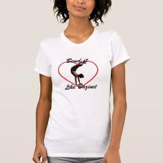 Curva tiene gusto de Bazinet Camisetas