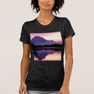 Curva Wyoming de Oxbow del final del terciopelo de Camiseta