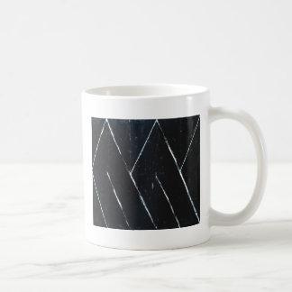 """Curvas angulares negras en forma de """"U"""" (minimalis Tazas"""