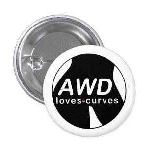 Curvas AWD de los amores Pin Redondo 2,5 Cm