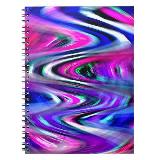 Curvas de la imaginación libros de apuntes con espiral