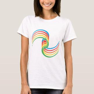 Curvas del color: Ejemplo del vector: Playera