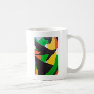 Curvas negras erosivas del rompecabezas taza clásica