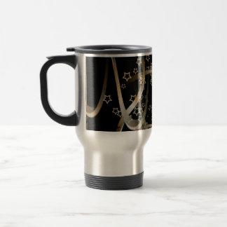 Curvas y estrellas tazas de café