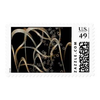 Curvas y estrellas timbres postales