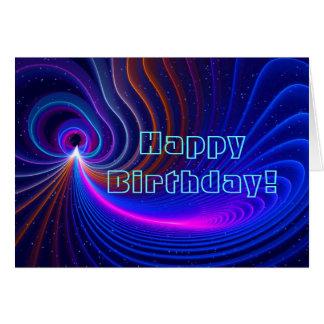 Curvature Birthday Card