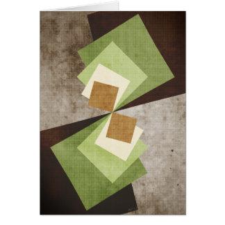 Curvature of A Square Card