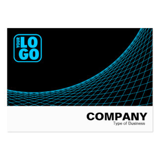 Curve Footed - Sky Blue Large Business Cards (Pack Of 100)