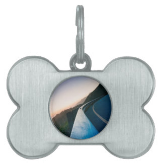 Curve in the Road Pet Name Tag