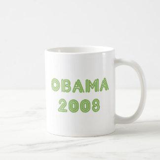 Curve Obama Green Mug