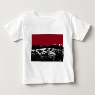 Curve of Earth Dark Red Sky Over Desert Baby T-Shirt