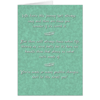 Curveball (de ambos) tarjeta de felicitación