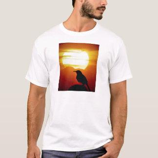 Curved bill thrasher on saguaro, Sonoran Desert, U T-Shirt