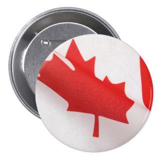 curved Canada flag big button