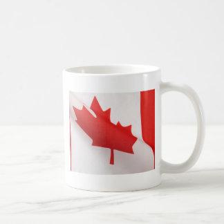 curved Canada flag big mug