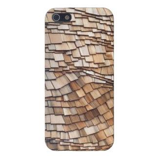 Curved Cedar iPhone 5/5S Savvy Case