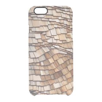 Curved Cedar iPhone 6/6S Clear Case