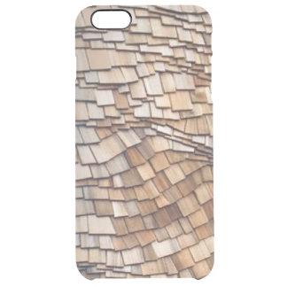 Curved Cedar iPhone 6/6S Plus Clear Case