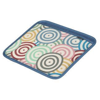 Curved Circles Pattern Sleeve For iPads