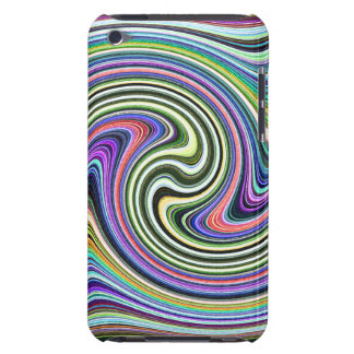 Curved Layers of Colors Barely There iPod Case