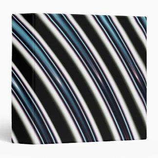 Curved Lines Close Up Of A Fractal Binder