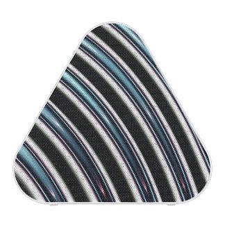 Curved Lines Close Up Of A Fractal Speaker