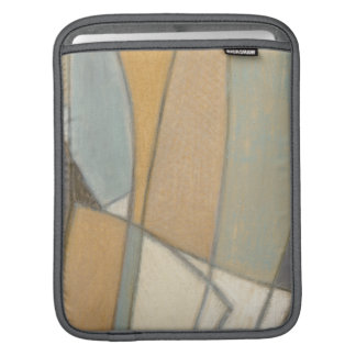 Curved Lines & Muted Earth Tones iPad Sleeve