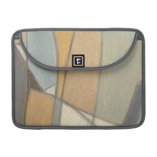 Curved Lines & Muted Earth Tones MacBook Pro Sleeve
