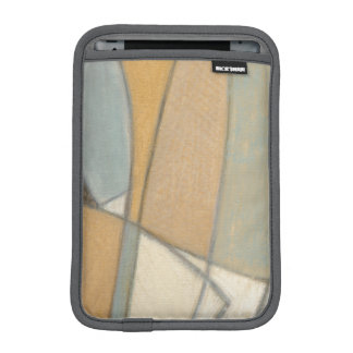 Curved Lines & Muted Earth Tones Sleeve For iPad Mini