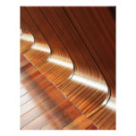 Curved Polish Wood Texture Full Color Flyer