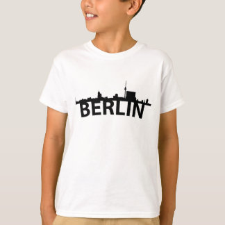 Curved Skyline Of Berlin Germany T-Shirt