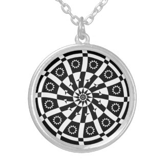 Curved Spiral, Necklace