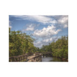 Curved Walkway Canvas Print