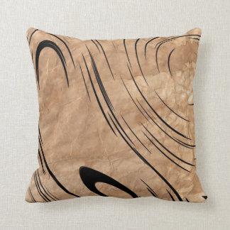 Curves Abstract Art American MoJo Pillow